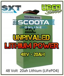LITHIUM BATTERY UPGRADE PACK - 48 Volt - 20AH (LIFEPO4)