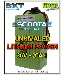 LITHIUM BATTERY UPGRADE PACK - 36 Volt - 20AH (LIFEPO4)