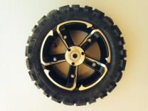 48V - SXT Complete Wheel Assembly - Off Road Tyre - Front