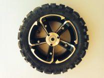 48V - SXT Complete Wheel Assembly - Off Road Tyre - Back